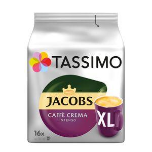 Tassimo Jacobs Caffè Crema Intenso XL | 16 T Discs, Kaffeekapseln