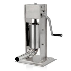Zelsius Profi Wurstfüllmaschine, 2 Liter, Edelstahl Wurstfüller