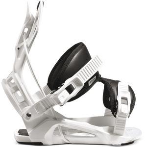 Flow Nexus Snowboard Bindung Farbe: White, Schuh Größe: L