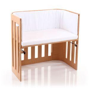 BABYBAY TOBI Babybay Trend Nestchen für 180811 Mit verschiedenen Motiven und Farben erhältlich, Weiß (W)