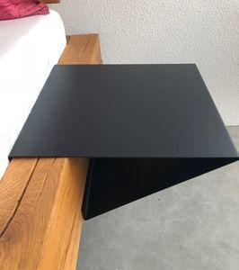 Nachttisch 30x13cm 'Theresa' Metall schwarz