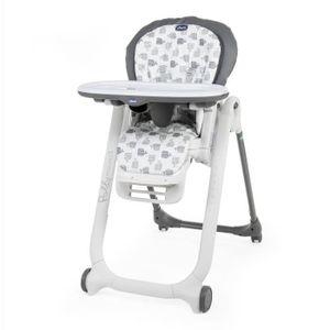 Chicco Polly profiliert grau hohen Stuhl