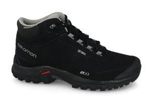 Salomon Shelter CS WP Herren Trail-Schuhe Wanderschuhe Sneaker Schuhe Schwarz, Größe:41 1/3