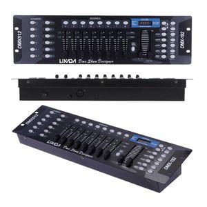 LIXADA 192 Kanaele DMX512 Controller Konsole fuer Stage Light Party DJ Disco Operator Equipment