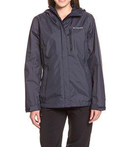 Columbia Pouring Adventure Jacket Outdoor-Jacke atmungsaktive Damen Wander-Jacke mit Omni-Tech Dunkelblau, Größe:M