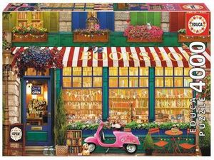 Educa Puzzle - Vintage bookshop 4000 Teile