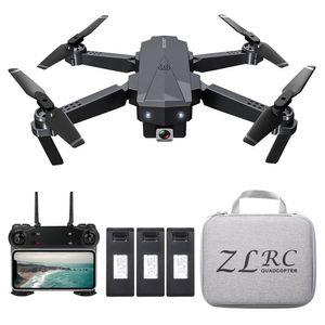 SG107 Faltbare Mini-Drohne mit Kamera 4K HD Indoor RC Quadcopter APP-Steuerung mit Headless-Modus 360 ¡ã -Drehung Flugbahn fš¹r Erwachsene Kinder Anf?nger Tolles Geschenkspielzeug mit Tasche 3 Batterien