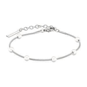 Liebeskind LJ-0489-B-20 Damen Armband Edelstahl Silber 20 cm