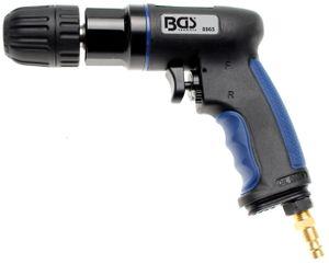 BGS technic Druckluft-Bohrmaschine mit 10 mm Schnellspannfutter