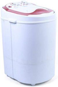 6kg Mini Waschmaschine Vollautomatisch Wäscher Waschautomat Washing Dehydration Machine Trockner 54x35x34cm