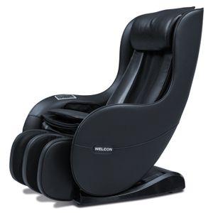 WELCON Massagesessel EASYRELAXX schwarz - 3D Massagestuhl mit Neigungsverstellung elektrisch