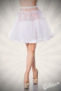 Petticoat, Farbe: Weiß, Größe: XL-3XL
