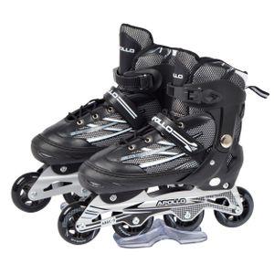 """Apollo Inliner """"RX Pro""""größenverstellbare Inline Skates für Erwachsene Größe XL (41-45) - schwarz"""