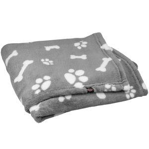Trixie Hundedecke Kenny - Die kuschelweiche Decke ist bei 60°C waschbar, und damit ideal für Allergikerhunde