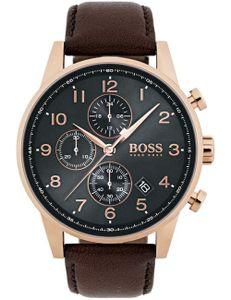 Boss NAVIGATOR CLASSIC 1513496 Herrenchronograph Klassisch schlicht