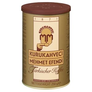 Türkischer Kaffee Kurukahveci Mehmet Efendi Türk Kahvesi Fein Gemahlen 250g