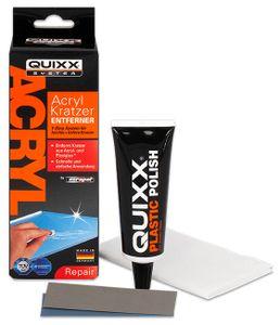QUIXX Kratzer Entferner für Acrylglas 4-teilig