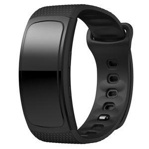 Armband Uhrenarmband Weich Komfortabel 170-220 mm Silikon Armband Ersatz Samsung Gear Fit 2 SM-R360