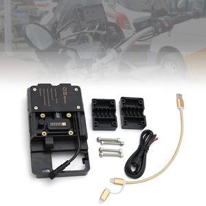 Handy-Navigationshalterung Zubehoer mit USB-Ladegeraet fuer BMW R1200GS LC & Adventure S1000XR R1200RS