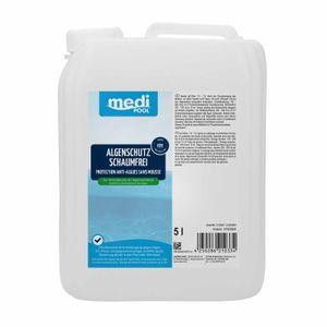 mediPOOL Algenschutz schaumfrei, Algenverhütung, Algenvernichter, Algenschutzmittel, Wasserpflege Inhalt:5 Liter