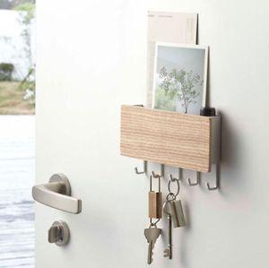 Aus Holz Schlüsselbrett Schlüsselleiste Schlüsselboard Schlüsselkasten