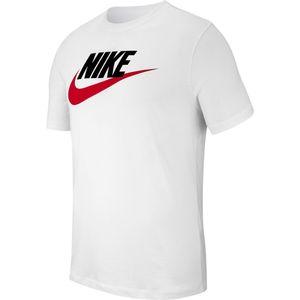 Nike M Nsw Tee Icon Futura White/Black/University Red L