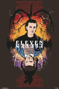 Stranger Things - Eleven - Poster Plakat Druck - Größe 61x91,5 cm