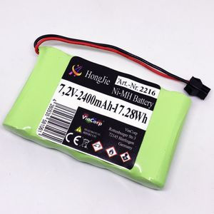 VinCorp 7,2V NI-MH Akku 2400mAh Batterie AA Mignon SM-2 P Slowfly HBX Stecker Crawler RC