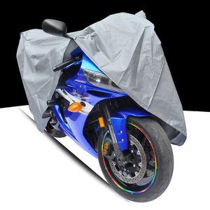 XL Motorradabdeckung Motorradabdeckung Staubdichte Au?enabdeckungen Regenschutz