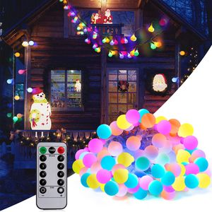 Adoric LED Lichterkette 10m Glühbirne bunt Wasserdicht Weihnachten Geburtstag Hochzeit Neujahr Party Weihnachtgeschenk Geschenk-Sets für Frauen Weingeschenke Lichtzeichen usw.