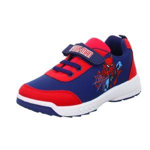 Spiderman Jungen-Slipper-Kletter Blau-Rot, Farbe:blau, EU Größe:29
