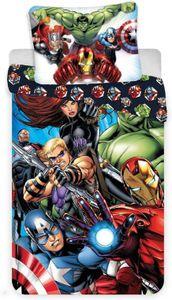 Bettwäsche Avengers Kissenbezug, 70 x 90 cm, Bettbezug, 140 x 200 cm