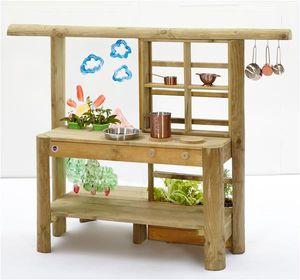 Spielküche Plum Discovery Küche / Gartenküche Holz 161x63x114cm