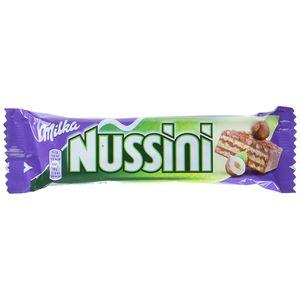 Milka Nussini Riegel Waffelschnitten mit Schokoladenüberzug 31g