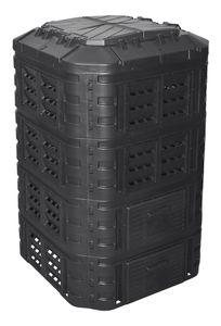 Komposter aus Kunststoff 1120L, Schnellkomposter mit Belüftungssystem, modular steckbar, für ideale Zersetzung 1120L