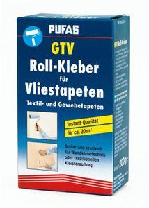 Kleister für Textil Gewebe Vlies Tapeten Pufas GTV Rollkleber 200g