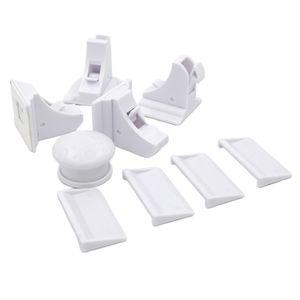 Magnet Schubladensicherung Schrankschloss 4er Set Schranksicherung unsichtbare Kindersicherung
