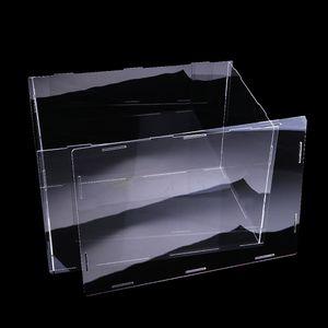 Acryl Schaukasten Einzelvitrine Vitrine  Staubdichte Box, 32x25x25cm