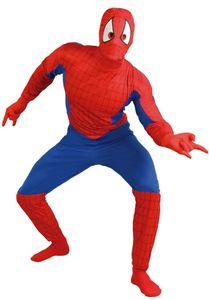 Fiestas Guirca spiderman Kostüm Polyester rot/blau mt L Männer