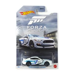 Hot Wheels GDG44-GJV70 Ford Shelby GT350 weiss/blau - Forza Motorsport Maßstab 1:64