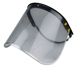 Gesichtsschutzschirm, Schutzhelm