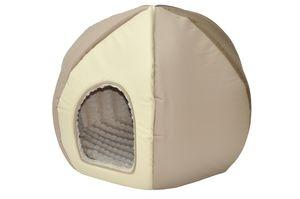 nanook Hundehöhle/ Katzenhöhle Hundebett Hundehaus Katzenhaus Rondo - 60 cm
