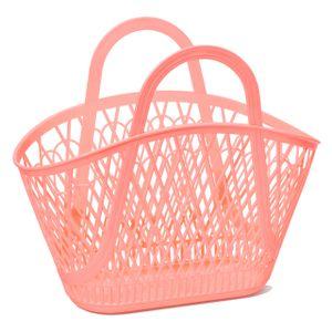 Sun Jellies Betty Basket - in verschiedenen Farben, Farbe:Pfirsich