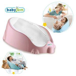 BabyJem Baby Sitz Badesitz Rosa Badewannensitz Badehilfe Soft Sitz Wanne Sicherheit