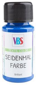 VBS Seidenmalfarbe, 50 ml Brilliantblau