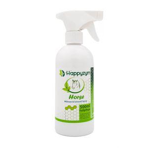 Happyzym Mähnen und Schweifspray für glattes, glänzendes und filzfreies Pferdehaar
