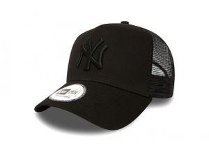 New Era Clean Trucker Cap NY Yankees Schwarz, Cap:OSFA
