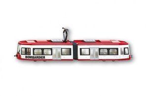 Siku Strassenbahn Modellbahn rot/weiß ; 1895