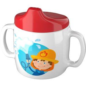 Haba baby Trinkbecher Feuerwehr 10 cm