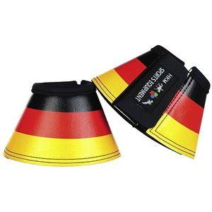 HKM Hufglocken -Flags-, Farbe:7901 Flag Germany, Größe:Warmblut